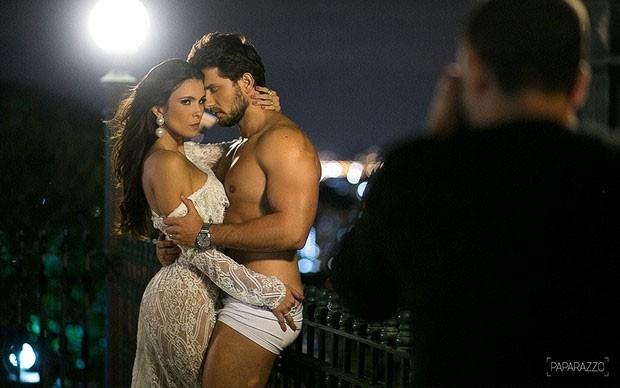 Kamilla Salgado e Eliéser (Foto: Anderson Barros / Paparazzo)