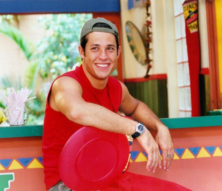 Roger Gobeth viveu Touro em 'Malhação' (Foto: CEDOC/TV Globo)