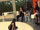 Bruna Marquezine filma último ensaio do 'Dança': 'caindo ficha agora'