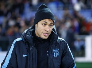 Neymar Barcelona x Guangzhou Evergrande (Foto: AP)