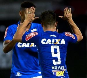 Cruzeiro e Santa Cruz; Willian  (Foto: Anderson Stevens/Light Press)