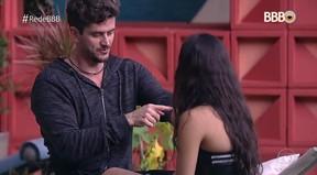 BBB 17: Marcos e Emilly (Foto: Reprodução da TV Globo)