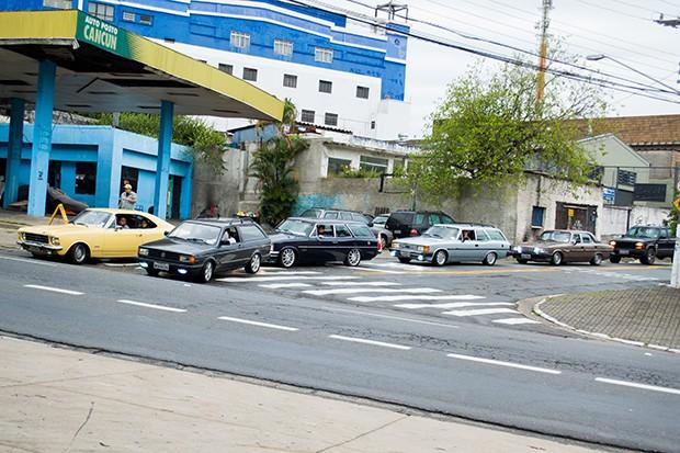 Opaleiros chegando para a Old Stock Race (Foto: Divulgação/Humberto Silva)