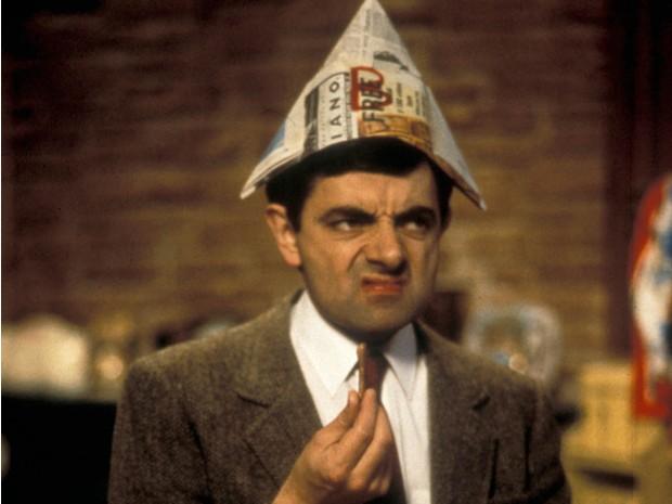 O ano novo de Mr. Bean (Foto: divulgao)