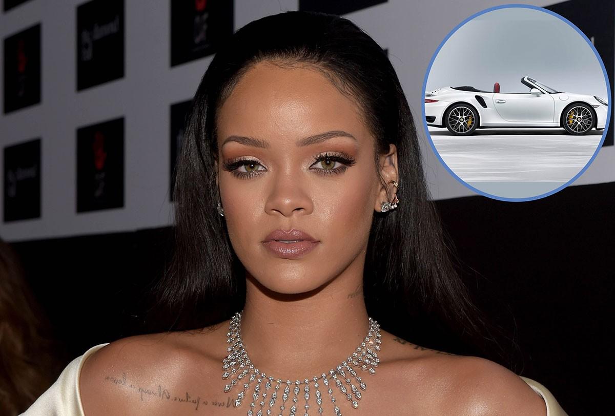 Rihanna ganhou uma Porshe da produtora de Jay Z (Foto: Getty Images / Reprodução)