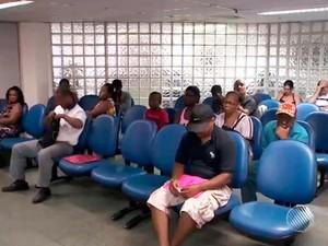 Agência do INSS Bahia (Foto: Reprodução/TV Bahia)