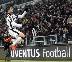 Morata Juventus x Milan (Foto: Reuters)