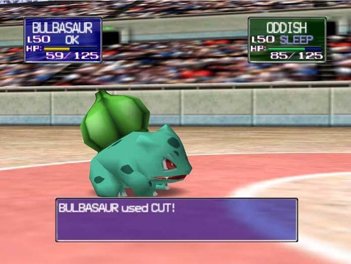 Stadium permitia batalhas entre jogadores com direito a belos gráficos (Foto: Reprodução)