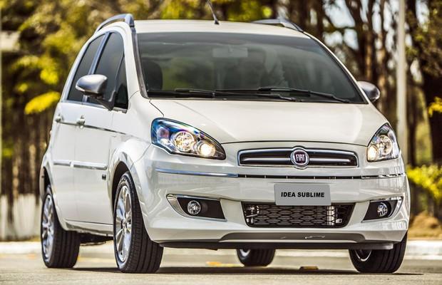 Fiat lan a idea sublime por r auto esporte for Precio fiat idea essence 2014