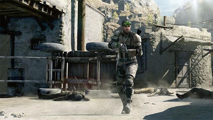 Splinter Cell e seu herói Sam Fisher (Foto: Divulgação/Ubisoft)