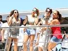 'Arrastão' com Ivete, Daniela Mercury e Alinne Rosa fecha em grande estilo o carnaval de Salvador