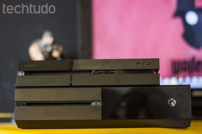 Trocas também são alternativa para conseguir um PS4 usado (Foto: Reprodução/Murilo Molina)