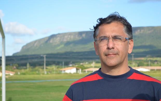 Eduardo Almeida diz que não pretende reeleição (Foto: Felipe Martins/GLOBOESPORTE.COM)