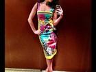 Fernanda Paes Leme exibe look antes de Festival de Cannes