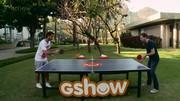 'Ping-pong com o Andreoli'; reveja série de bate-papos do apresentador