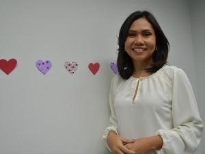 Ádria Santos é a apresentadora do Jornal de Roraima (Foto: Bruna Cássia/Rede Amazônica)