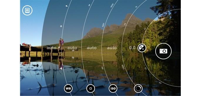 Lumia camera possibilita acessar configurações impossíveis em outros aparelhos (Foto: Divulgação)