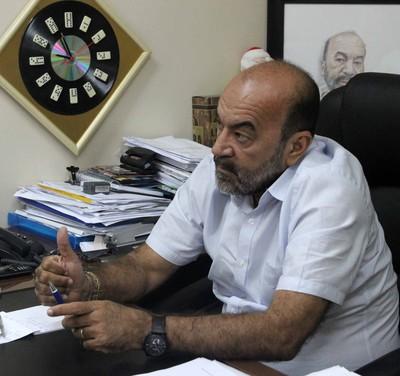 Cesarino Oliveira, presidente da FFP (Foto: Josiel Martins )