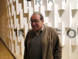 Ruy Castro, na Feira do Livro de Frankfurt (Foto: Raquel Freitas/G1)