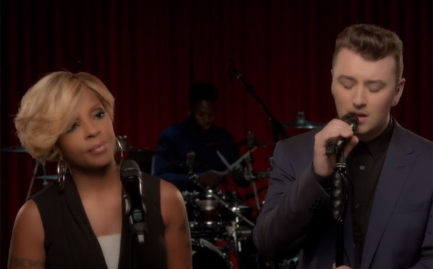 Sam Smith e Mary J Blige Stay With Me (Foto: Reproducao)