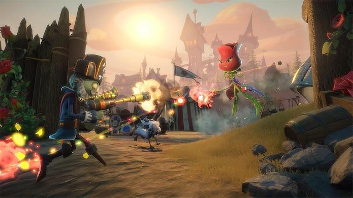 Plants vs Zombies Garden Warfare 2: modo história concede boa parte dos troféus e conquistas (Foto: Divulgação/EA)