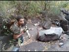 Homem escorrega de cachoeira e é resgatado após 22 horas em mata