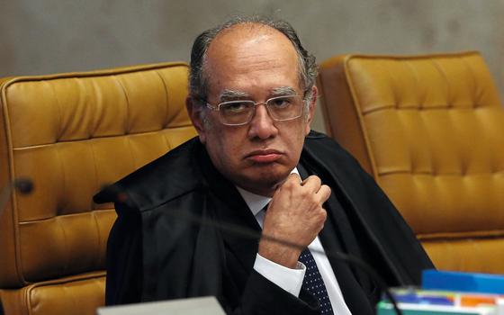 O ministro do Supremo Tribunal Gilmar Mendes (Foto:  ANDRÉ DUSEK/ESTADÃO CONTEÚDO)