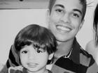 Douglas Sampaio apresenta o filho, Bernardo, de 2 anos