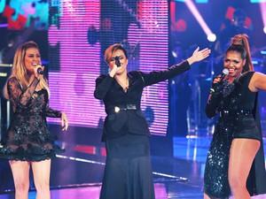 Assistentes se reencontram em musical da Final (Isabella Pinheiro/TV Globo)