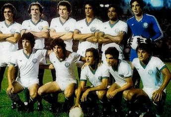 Darinta, Palmeiras 1981 (Foto: Arquivo pessoal/Darinta)