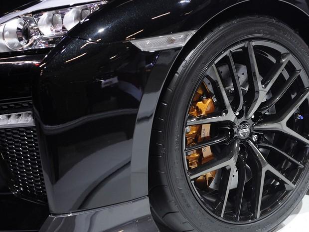 Nissan GT-R no Salão de SP 2016 (Foto: Alan Morici/G1)