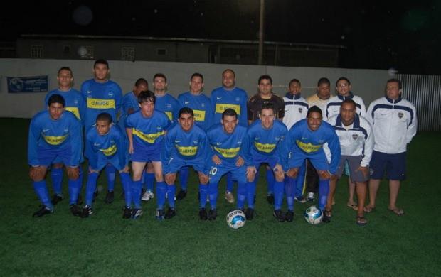 Os Mendes, futebol 7 society (Foto: Divulgação/Fecafss)