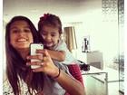Momento fofura: Flávia Alessandra posta foto das filhas no Twitter