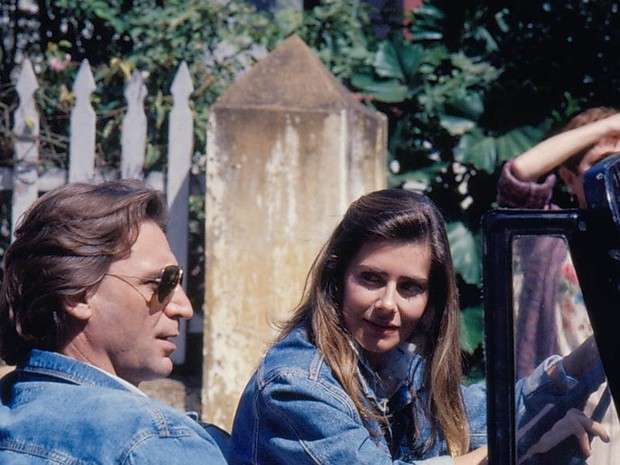 Herson Capri e Maitê Proença em 'Felicidade'