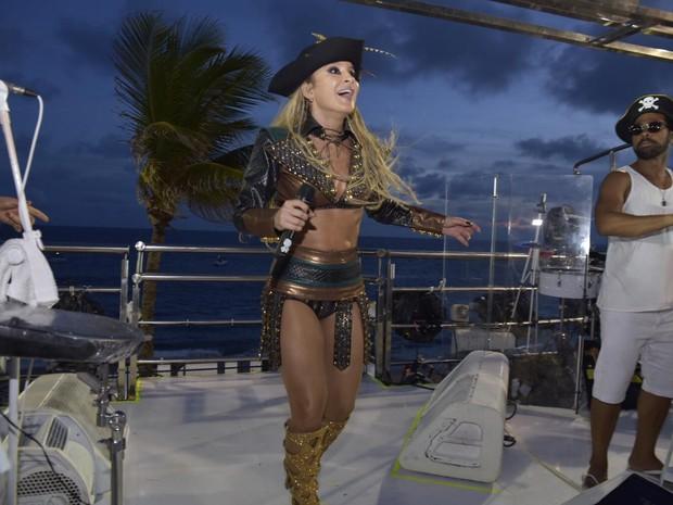 Claudia Leitte; carnaval; salvador; bahia (Foto: Elias Dantas/Ag. Haack)