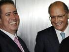 'Acho que não procede', diz Alckmin sobre saída de José Serra do PSDB