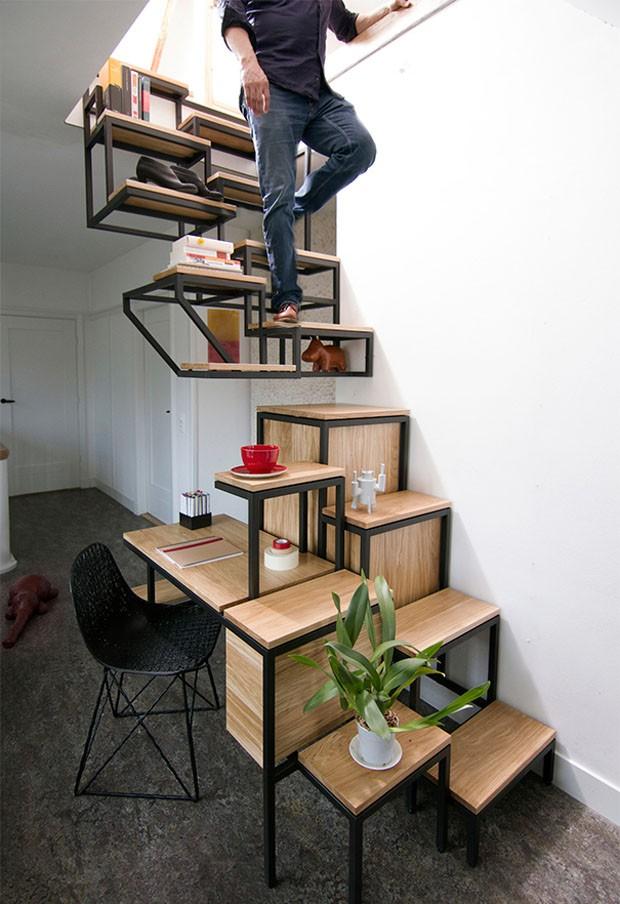 Ideias de escadas (Foto: Studio Mieke Meijer / Divulgação)