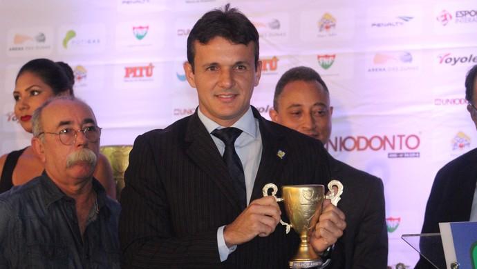 Caio Max Augusto Vieira Prêmio Craque Potiguar (Foto: Fabiano de Oliveira)