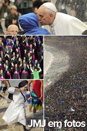 Papa se despede do Brasil e agradece calor e acolhimento (AFP; AP; Reuters)