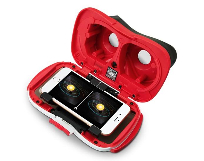 7a0ad34f91a54 Acessório permite inserir iPhone para uso com realidade virtual (Foto   Reprodução Apple)