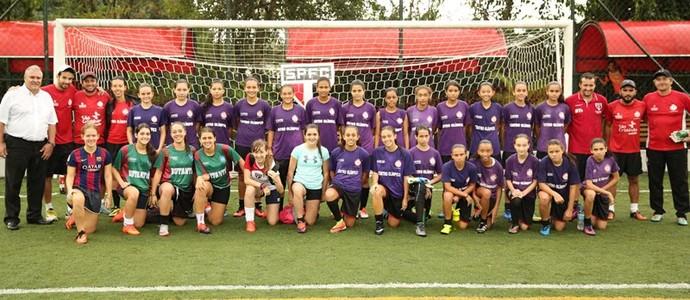Time feminino São Paulo (Foto: divulgação / São Paulo FC)