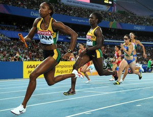 Atletismo Sherone Simpson (Foto: Getty Images)