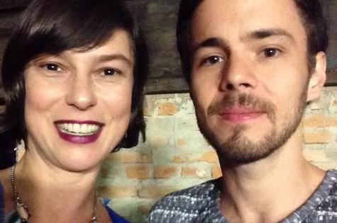 Maria Paula com o marido, Victor Valansi (Foto: Reprodução)