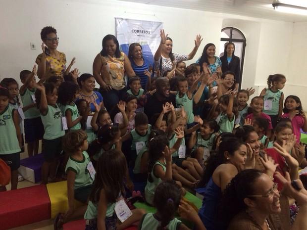 Rafael Zulu em festa de ONG em Niterói (Foto: Divulgação)