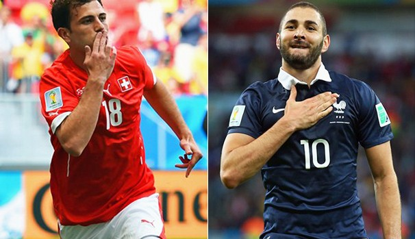 Globo transmite partida entre Suíça x França nesta sexta-feira, dia 20 (Foto: Divulgação FIFA / Getty Images)