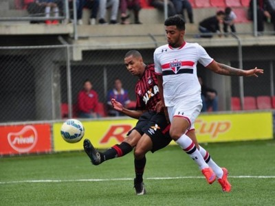 Atlético-PR São Paulo Sub-20 (Foto: Site oficial do Atlético-PR/Marco Oliveira)