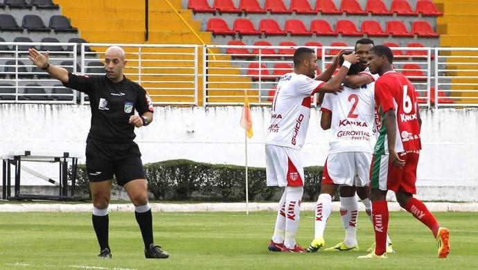 Comemoração Boa Esporte x CRB (Foto: Junior de Melo / Assesoria CRB)
