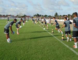 Botafogo começa a pré-temporada (Foto: Divulgação / Botafogo-PB)
