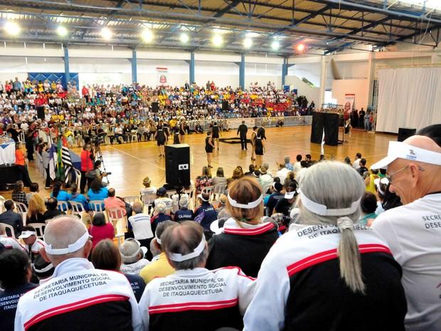 Idosos de Itaquaquecetuba podem se inscrever para os Jogos Regionais da Terceira Idade JORI (Foto: Osvaldo Birke/PMMI)