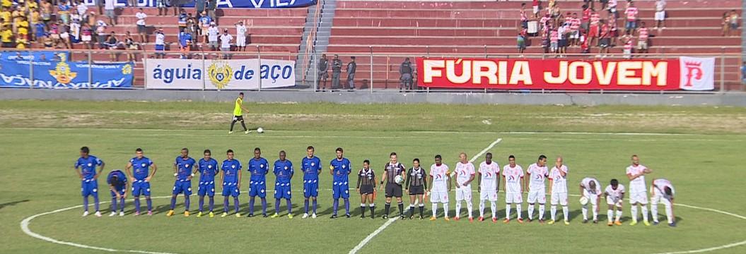 Princesa e Nacional ficam no  empate sem gols, em amistoso